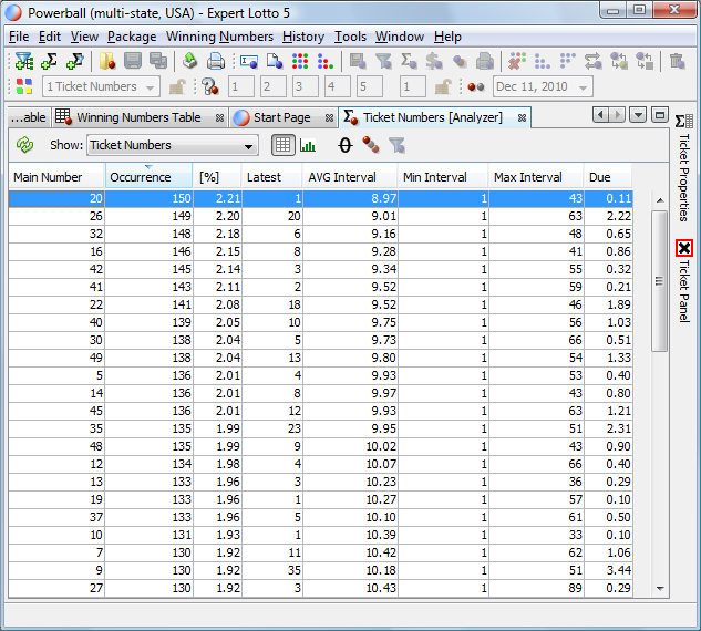 Excel keno checker